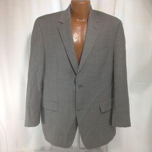 Michael Michael Kors 2 Piece 100% Wool Suit 42R